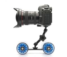 Inject some movement into your DSLR video with this nifty little skater dolly.
