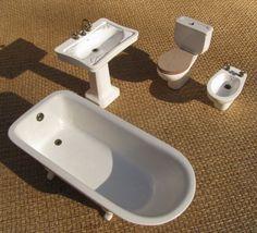 Dollhouse Miniature Shaving Cream Can 1:12 Bathroom Shower