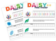 I am Girl Scouts: A Daisy Petal & Leaf Tracker and an Updated Junior Tracker