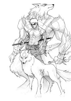 Werewolf by ~janusmemory