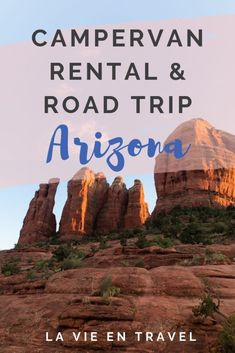 Arizona Campervan Rental - Arizona road trip itinerary - From Sedona to the Grand Canyon to Page Arizona to Monument Valley! Along with some road trip tips and the best Arizona campervan rental! Page Arizona, Visit Arizona, Arizona Road Trip, Arizona Travel, Arizona Mountains, Grand Canyon South Rim, Campervan Rental, First Time Camping, Boat Rental