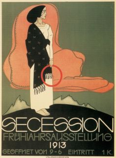 Poster by Franz Wacik (1883-1938), 1913, Spring Exhibition of the Vienna Secession.