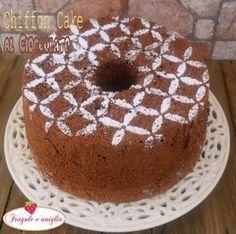 Chiffon Cake al Cioccolato Angel Cake, Angel Food Cake, Food Cakes, Torta Chiffon, Bolos Cake Boss, Sweet Recipes, Cake Recipes, Paris Brest, American Cake