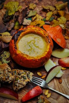 Halloween recipe: Cheese and cider pumpkin fondue