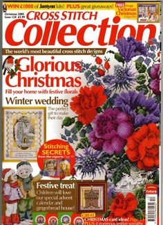 Cross-Stitch Collection Magazine.....lots of patterns