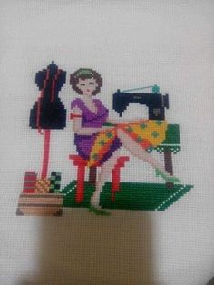 Punch Needle, Cross Stitching, Needlepoint, Cross Stitch Patterns, Diy And Crafts, Embroidery, Sewing, Cross Stitch Embroidery, Comics