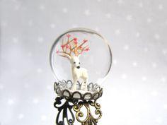 White Deer Terrarium ring - absolutely stunning.