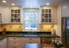 Cozy Kitchen traditional-kitchen