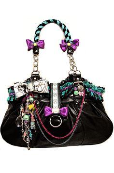 Kitsch Kaos - Positively Charming Bag (Multi Coloured)