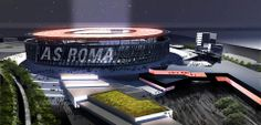AS Roma unveil plans to move to new £250m stadium.