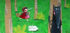 Red Riding Hood - by Séverine Duchesne Illustrations, Illustration Art, Ecole Art, Big Bad Wolf, Red Riding Hood, Summer Art, Art Plastique, Little Red, Faeries