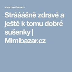 Strááášně zdravé a ještě k tomu dobré sušenky | Mimibazar.cz