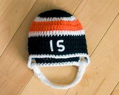 BABY HOCKEY HELMET Philadelphia Flyers pacifier not included, Hockey Baby Boy, Baby Hockey Crochet, Baby Hockey Knit Hat, Hockey Baby Gift, by Grandmabilt on Etsy