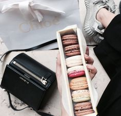 Givenchy, Chloe and Macarons