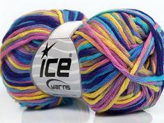 Fiber Content 100% Cotton Yellow Turquoise Purple Pink Brand ICE fnt2-41319