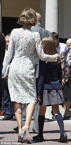 Queen Letizia of Spain and the Princess of Asturias, Princess Leonor 5/20/2015