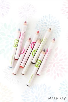Crayons for your lips or eyes that glide on smoothly. Add more for a darker hue or keep the color soft and light. | Mary Kay