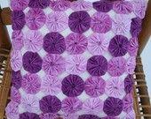 Purple yo-yo pillow.  @Kim Hen check these out!