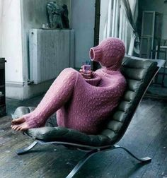 Full-Body Sweater for when you're just having one of those days.and to think, people made fun of the snuggie haha. WTF is this! Just In Case, Just For You, Mercury Retrograde, Just For Laughs, Swagg, Full Body, The Funny, Foto E Video, I Laughed