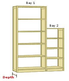 Design Your Own Wooden Shelving Systems and Storage Solutions