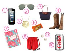The Pink and Green Prep: Top 10 Obsessions. Just trade the diet coke for water or coffee and I'm set.