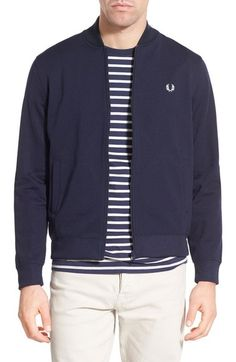 Fred Perry Bomber Track Jacket available at #Nordstrom