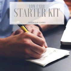 Low Carb Starter Kit - get really prepared to start the low carb lifestyle by stocking your pantry and your library with all your low carb needs. #lowcarb #sugarfree | ditchthecarbs.com