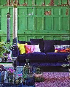 Verde: Interiores con toque verde | Decorar tu casa es facilisimo.com
