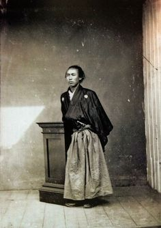 Ryoma Sakamoto (1836ー1867)kimono + boots