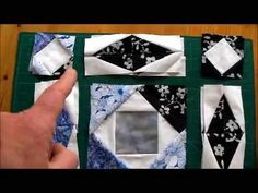 How to Quilt - Storm at Sea Quilt Pattern Video