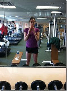 Hotel Gym Workout from Julie Go-Lean  #fitfluential