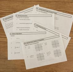 Awesome Algebra Daily Math Warm Ups!!!  Daily warm ups with questions from 76 specific Algebra topics. Use these warm ups for Algebra I, Algebra II and even Geometry students. There are over 300 questions included.