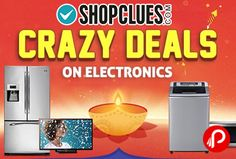 Shopclues #Electronics #Crazy #Deals is offering #CrazyDeals on #Electronic Products.  http://www.paisebachaoindia.com/crazy-deals-on-electronic-products-electronics-crazy-deals-shopclues/