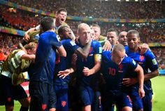 FIFA World Cup 2014: Spain vs Netherlands Third Match in Pictures
