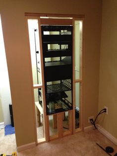 Diy A V Rack Page Home Theater Build Pinterest