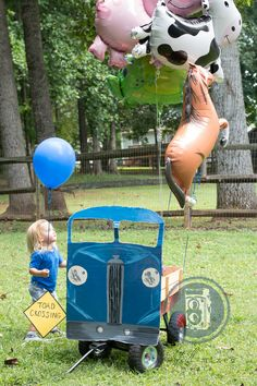 Little Blue Truck theme birthday party