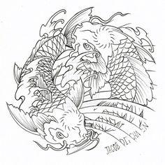 koi-fish-yin-yang-tattoo-designs.jpg (720×720)