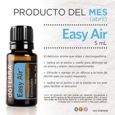Usos de Easy air o mezcla respiratoria DōTERRA