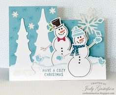 Cre8n' Memories: Specialty Christmas Cards