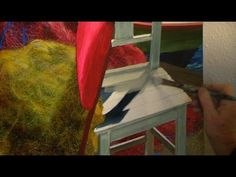 """▶ Realistic painting: """"Two Chairs"""" by artist Elizabeth Tyler - YouTube"""