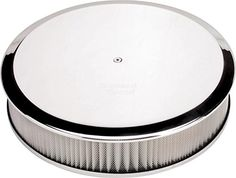 """NEW BILLET SPECIALTIES POLISHED ALUMINUM, LARGE ROUND AIR CLEANER ASSEMBLY, 14"""" DIAMETER X 3"""" TALL WITH K&N LIFETIME FILTER ELEMENT & STAINLESS STEEL HARDWARE Southwest Speed http://www.amazon.com/dp/B00XWPI8X6/ref=cm_sw_r_pi_dp_9rjxvb0PKGGAK"""