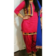 Patiala Suit, Salwar Suits, Indian Wear, Royals, Designers, Sari, How To Wear, Fashion, Saree