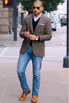 Tweed Blazer  A tweed blazer is one item you should't be afraid to splurge on. You'll be able to wear it everyday from September to February...