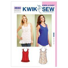 Kwik Sew Pattern K3844 (XS-S-M-L-XL)
