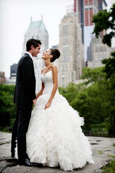 Isn't this romantic?  New York City Wedding Film from Fiore Films | Style Me Pretty