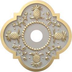 Pineapple Ceiling Medallion Marie Ricci http://www.amazon.com/dp/B00KO8ZIGO/ref=cm_sw_r_pi_dp_vIFoub034N795