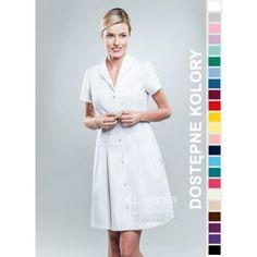 Sukienka Medyczna Hansa 0202 | Odzież damska | Dla lekarzy, farmaceutek i pielęgniarek. | Sklep internetowy Dersa |