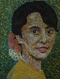 Aung San Suu Kyi by Molly B. Right
