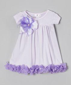 Lavender Petal Dress - Infant & Toddler