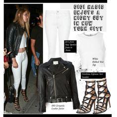 Gigi Hadid Enjoys a Night out in New York City